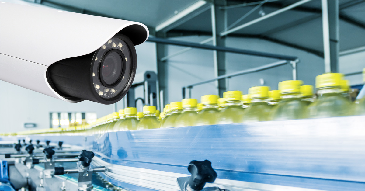 Procesbewaking met beveiligingscamera's