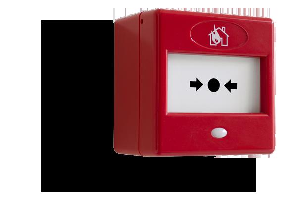 Brandbeveiliging en handbrandmelder