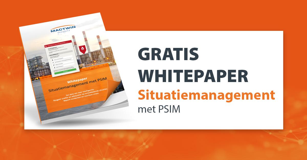 Whitepaper Situatiemanagement met PSIM