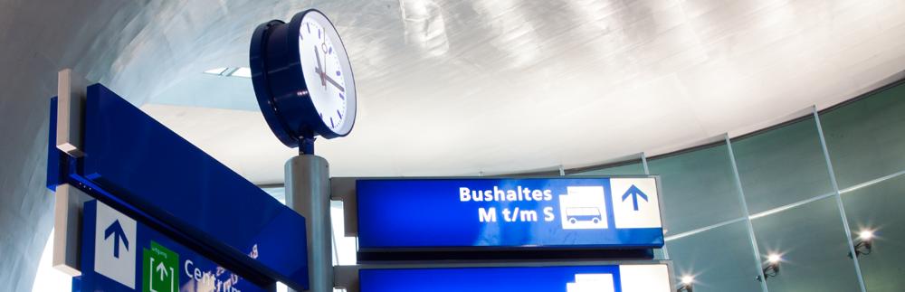 Aspiratiesysteem voor branddetectie in Station Arnhem Centraal