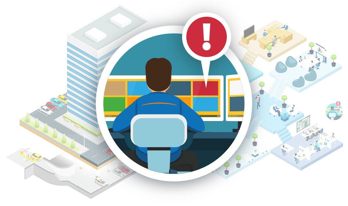 Remote beheer security systemen