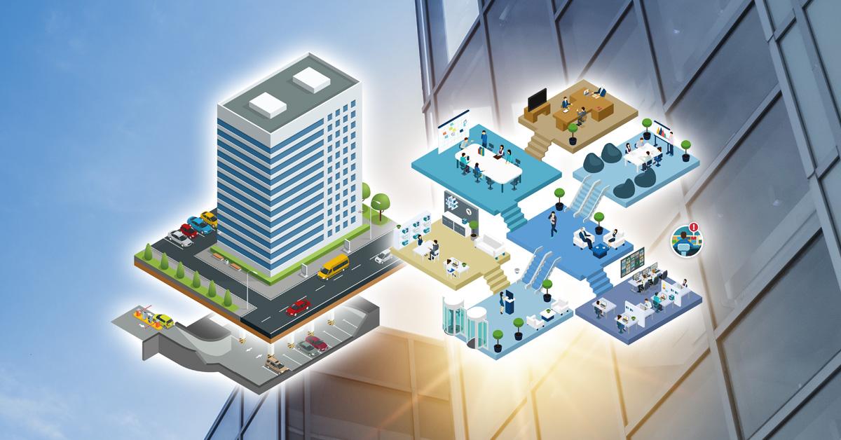 Security voor kantoorgebouwen