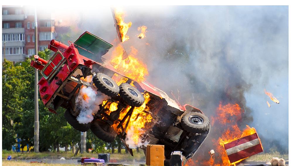 VBIED vrachtwagen ontploffing autobom explosiewering