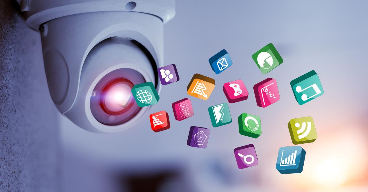App store voor beveiligingscamera's