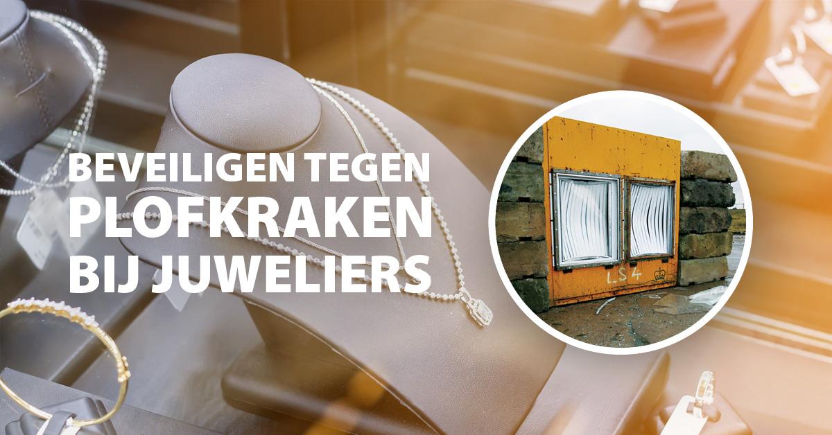 Plofkraak juwelier